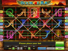 Book of Ra Deluxe slotmachine-77.net Gaminator 1/5