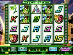 Green Lantern slotmachine-77.net CryptoLogic 1/5