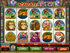 Karate Pig slotmachine-77.net Quickfire 1/5