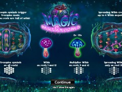 Magic Mushrooms - Yggdrasil Gaming