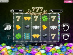 777 Diamonds slotmachine-77.net MrSlotty 1/5
