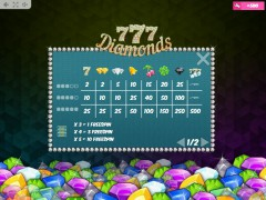 777 Diamonds slotmachine-77.net MrSlotty 5/5