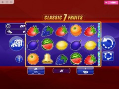 Classic7Fruits slotmachine-77.net MrSlotty 1/5