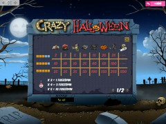 Crazy Halloween slotmachine-77.net MrSlotty 5/5