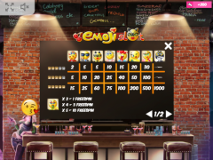 Emoji Slot slotmachine-77.net MrSlotty 5/5