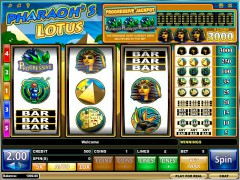 Pharaoh's Lotus slotmachine-77.net iSoftBet 1/5